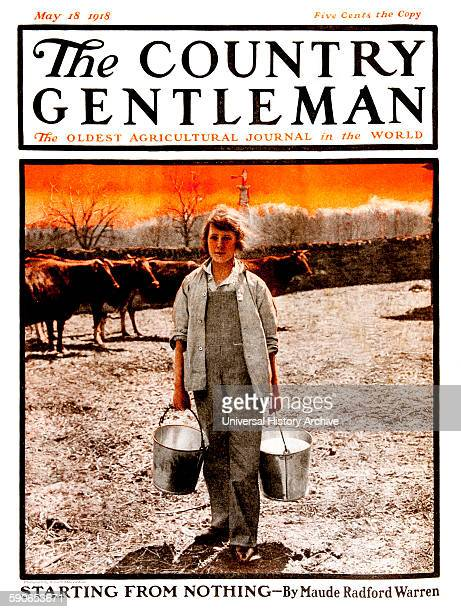 Cover of Country Gentleman agricultural magazine from the early 20th century
