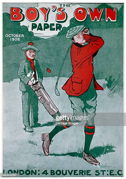 Cover of The Boy's Own Paper British October 1908