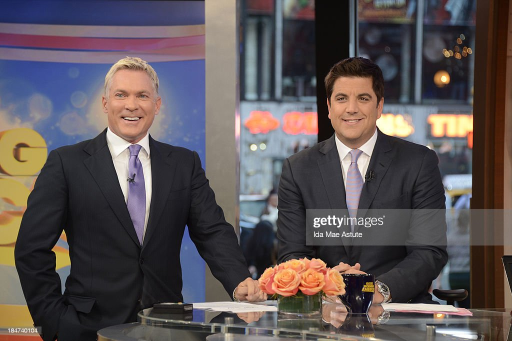 AMERICA - Coverage of GOOD MORNING AMERICA, 10/15/13, airing on the ABC Television Network. (Photo by Ida Mae Astute/ABC via Getty Images) SAM