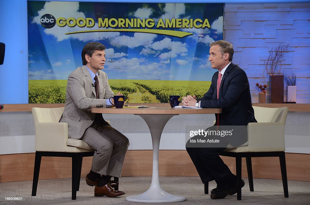 AMERICA - Coverage of GOOD MORNING AMERICA, 5/9/13, airing on the ABC Television Network. (Photo by Ida Mae Astute/ABC via Getty Images) GEORGE