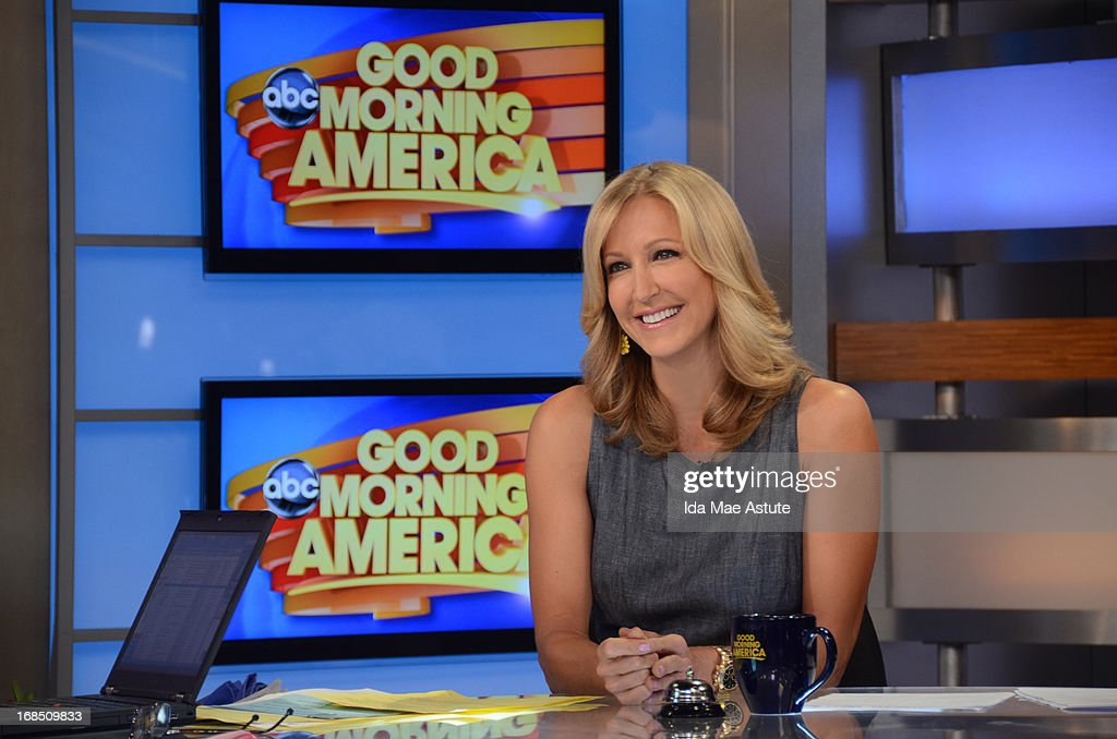 AMERICA - Coverage of GOOD MORNING AMERICA, 5/9/13, airing on the ABC Television Network. (Photo by Ida Mae Astute/ABC via Getty Images) LARA SPENCER