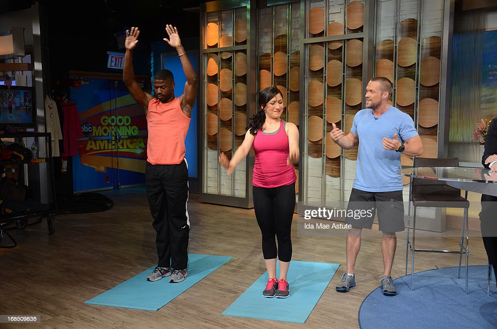 AMERICA - Coverage of GOOD MORNING AMERICA, 5/9/13, airing on the ABC Television Network. (Photo by Ida Mae Astute/ABC via Getty Images) CHRIS