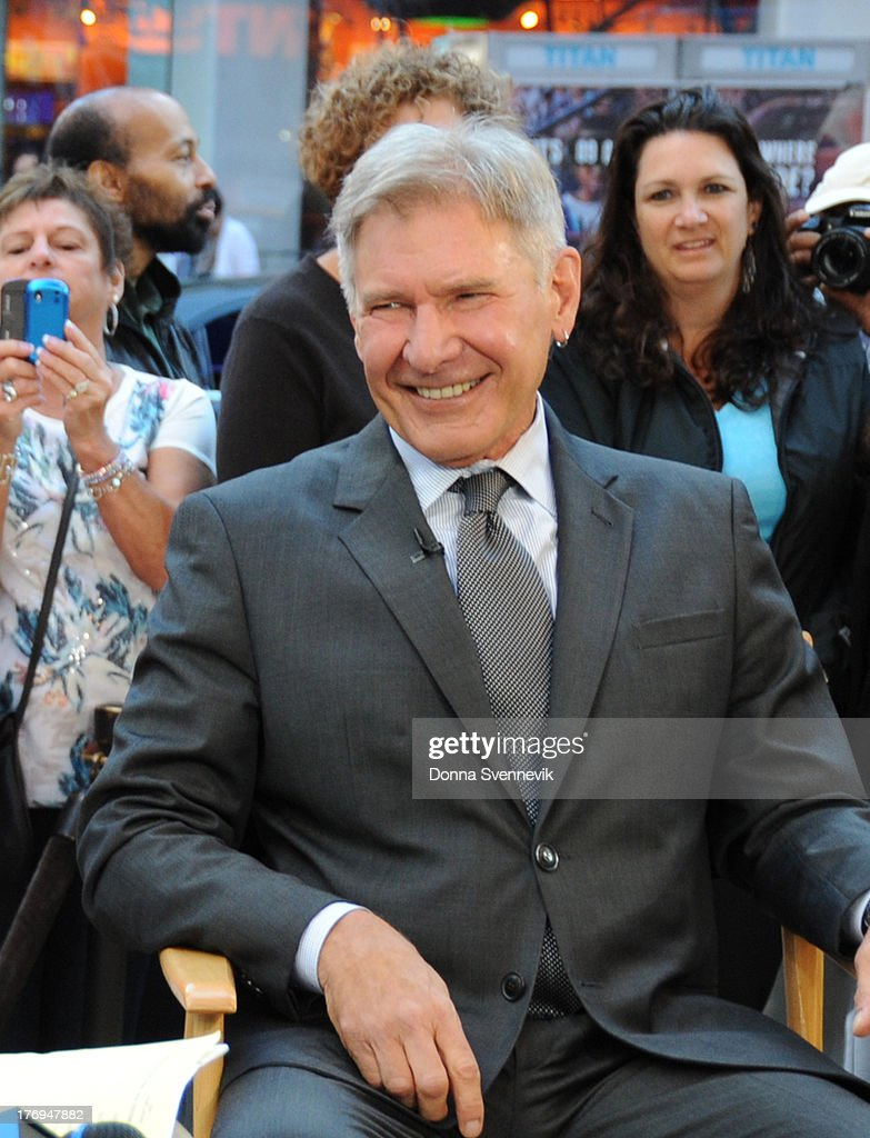 AMERICA - Coverage of GOOD MORNING AMERICA, 9/14/13, airing on the ABC Television Network. (Photo by Donna Svennevik/ABC via Getty Images) HARRISON