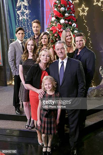 Coverage of the CBS series THE YOUNG AND THE RESTLESS scheduled to air on the CBS Television Network Pictured Robert Adamson Camryn Grimes Justin...