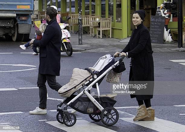 Jamie Dornan and Amelia Warner sighting on November 25 2015 in London England