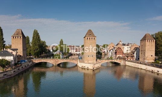pont couvert de la petite france strasbourg photo thinkstock. Black Bedroom Furniture Sets. Home Design Ideas