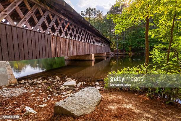 Covered bridge, Stone Mountain, Atlanta, Georgia