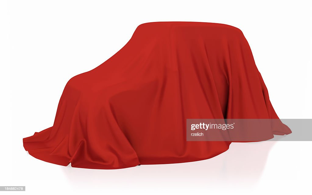 Covered car : Stock Photo