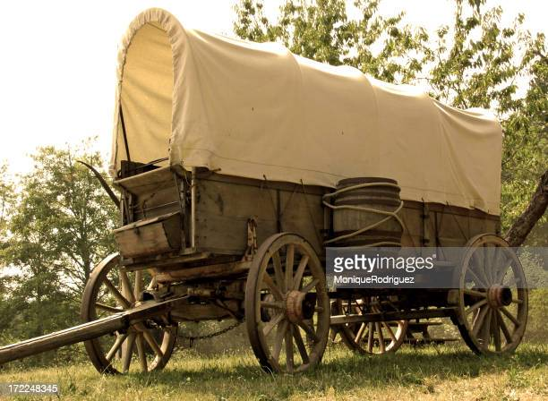 Covered Wagon Stock Photos and Pictures | Getty Images