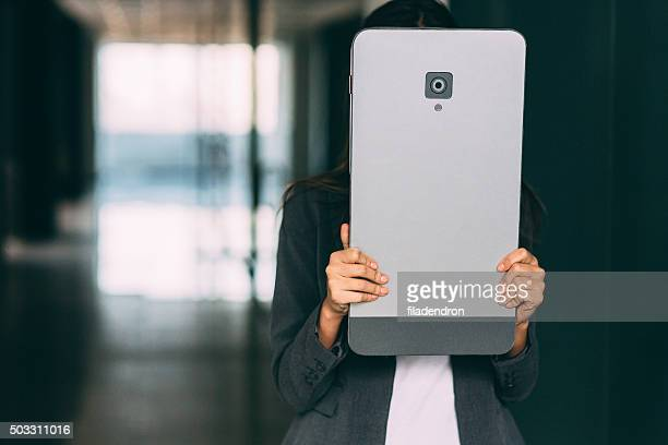 Covered With A Large Smart Phone