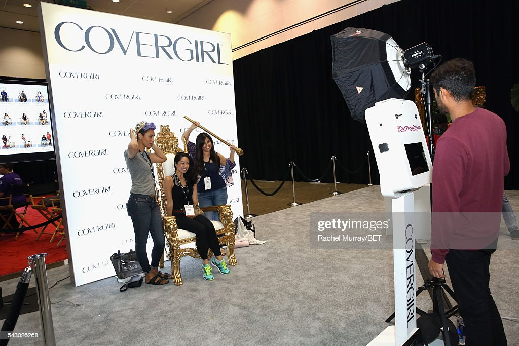Covergirl at Fashion And Beauty @BETX presented by Progressive, Covergirl, Strength of Nature, Korbel and Macy's during the 2016 BET Experience on June 25, 2016 in Los Angeles, California.