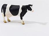 Cow on White