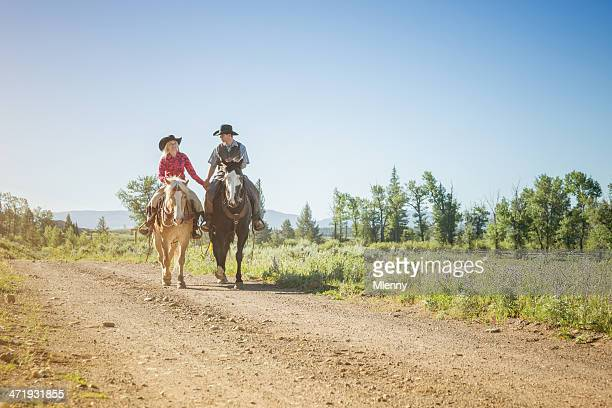 Cowboy and Cowgirl, Wild West Couple