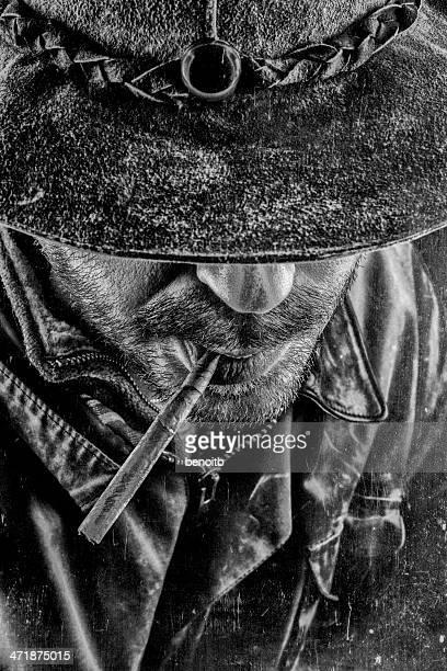 Cowboy and his cigar