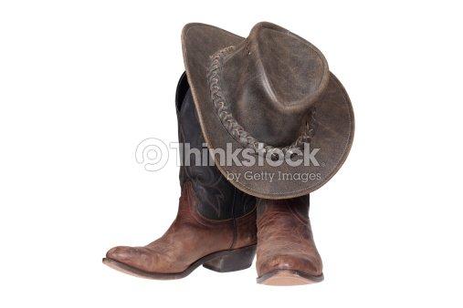 Botas y sombrero de vaquero   Foto de stock 007f78f70eb