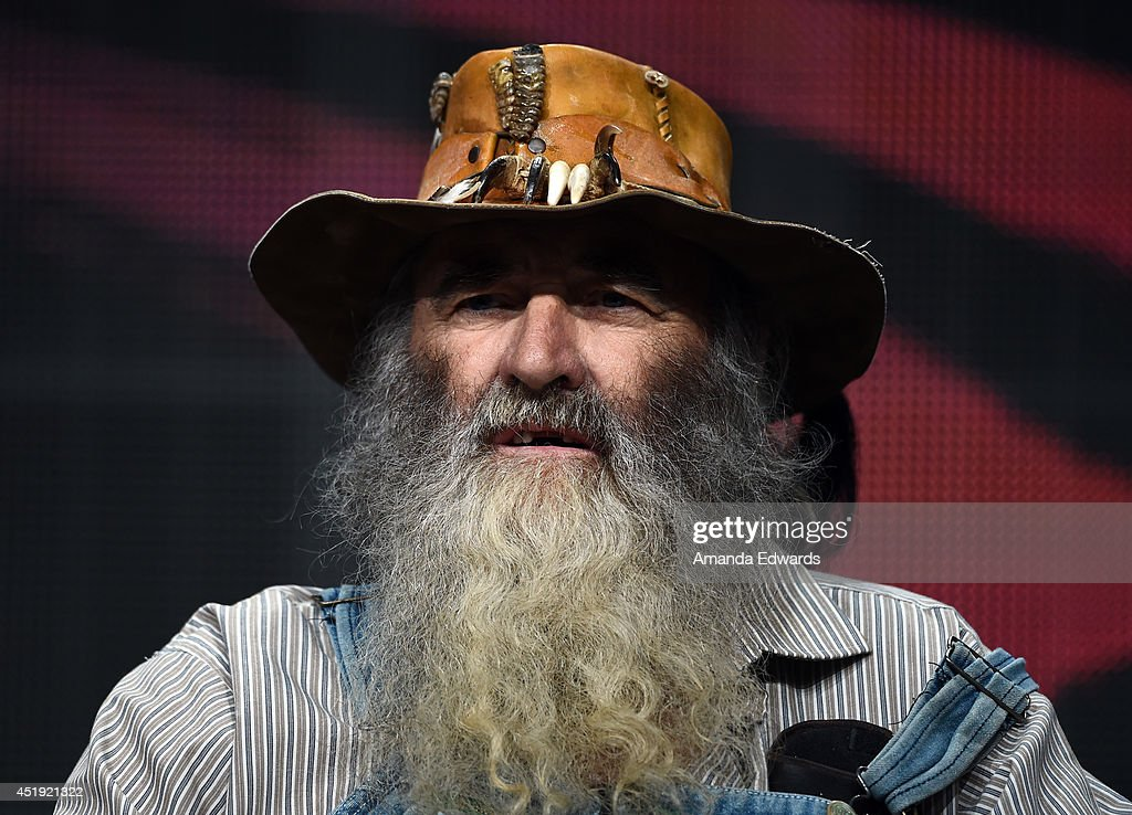 Cowboy HILLBILLY BLOOD talent speaks during the Discovery Communications TCA Panel Wednesday July 9 2014 at the Beverly Hilton in Beverly Hills...