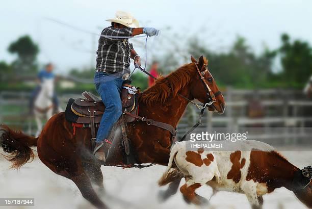 Cow-boys à l'action