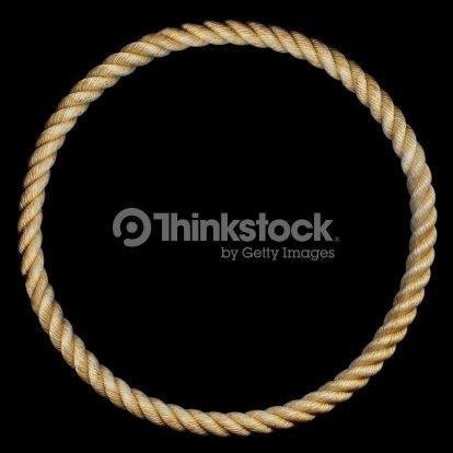 Cowboy Rope Frame Stock Photo   Thinkstock