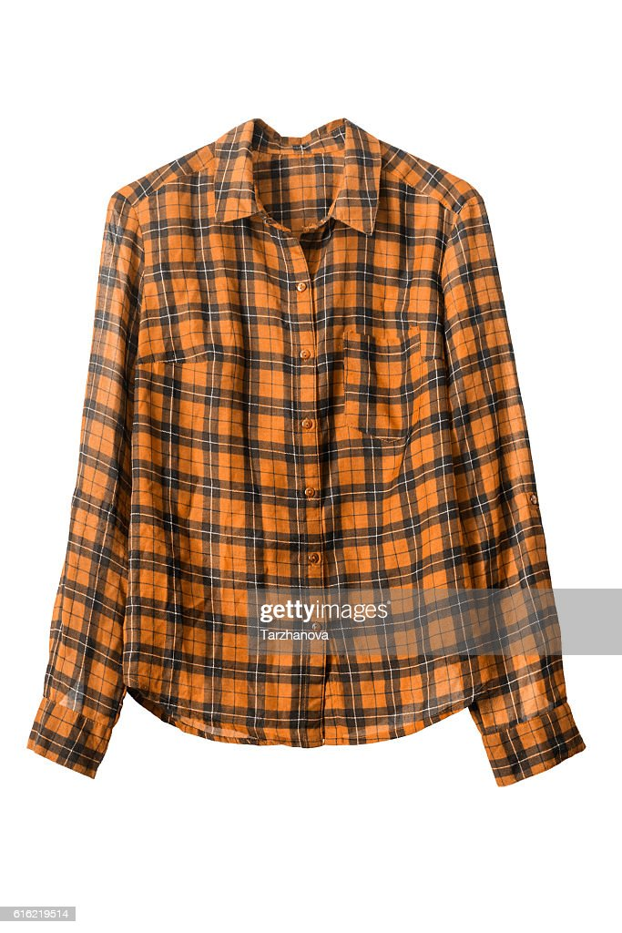 Cowboy shirt isolated : Photo