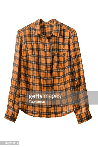 Cowboy shirt isolated : Stock-Foto