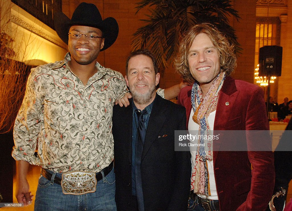 Cowboy Troy, Bill Bennett, executive vice president Warner Bros. Records Nashville and Big Kenny of Big & Rich