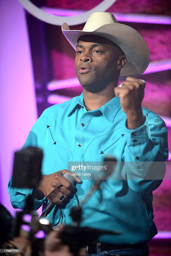 Cowboy Troy of Electro Shine performs during the MTV, VH1, CMT & LOGO 2013 O Music Awards on June 20, 2013 in Nashville, Tennessee.