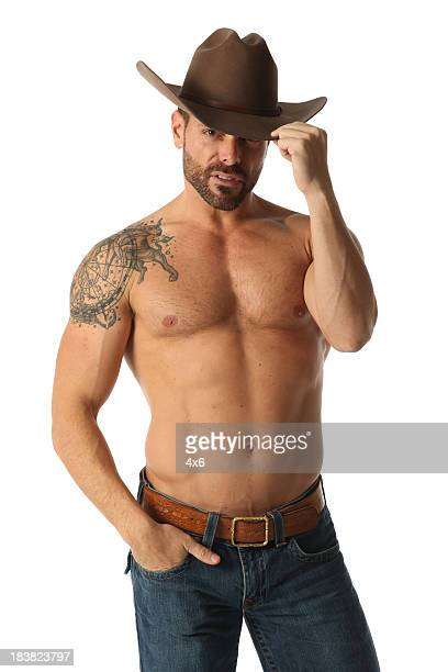 Cowboy com Tatuagem