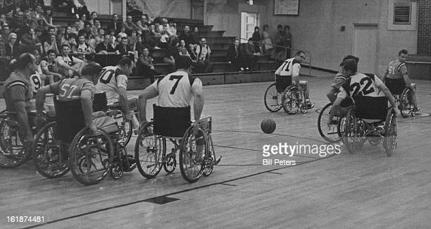 MAR 29 1968 MAR 30 1968 Cowboys Roll to Cage Victory Over Colts The Rolling Cowboys proved too skilled for the Colorado Colts in this wheelchair...