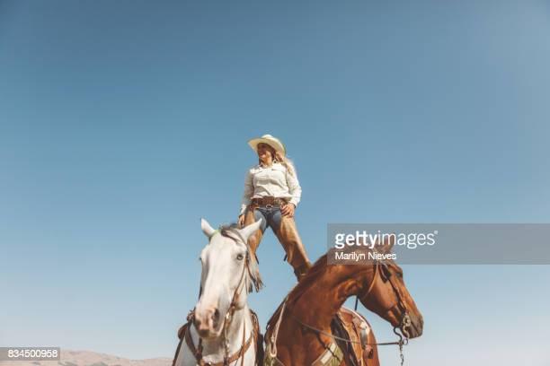Cowgirl-Porträt