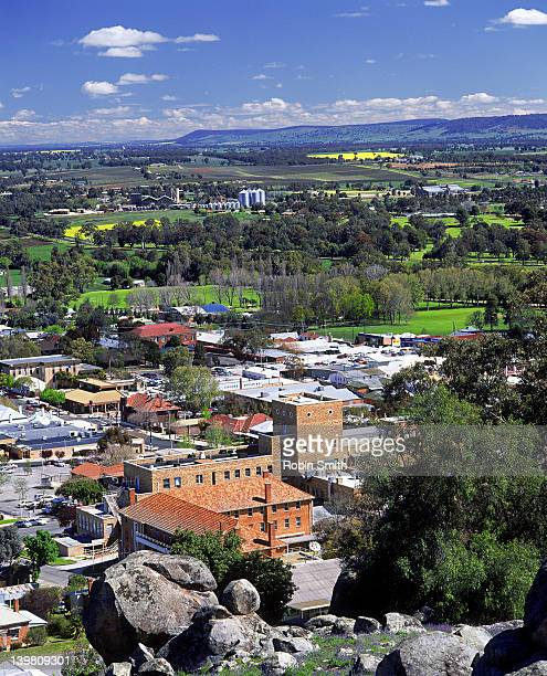 Cowra township, Lachlan River Valley