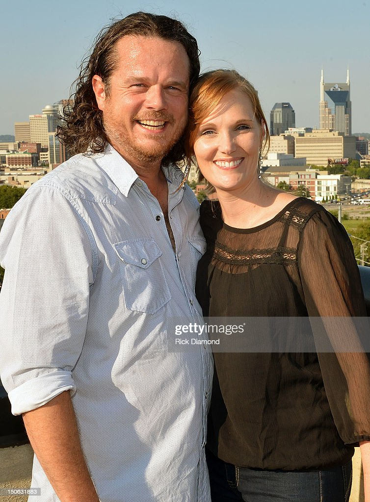 Co-Writer Jim McCormick and Fiancee Jenirose Buss attend the BMI #1 Party For Singer/Co-Writer Brantley Gilbert and Co-Writer Jim McCormick for 'You Don't Know Her Like I Do' At BMI Nashville on August 22, 2012 in Nashville, Tennessee.