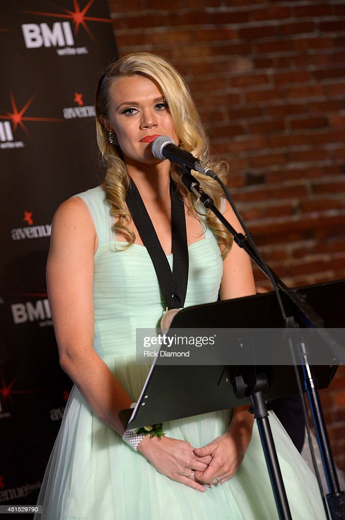 Co-writer Nicolle Galyon attends the 'Automatic' No. 1 party on June 30, 2014 in Nashville, Tennessee.