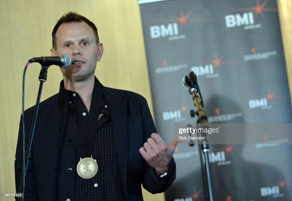 Co-writer Troy Verges attends the BMI and Hunter Hayes Celebration of their No. 1 Song 'I Want Crazy' at BMI offices In Nashville on October 8, 2013 in Nashville, Tennessee.