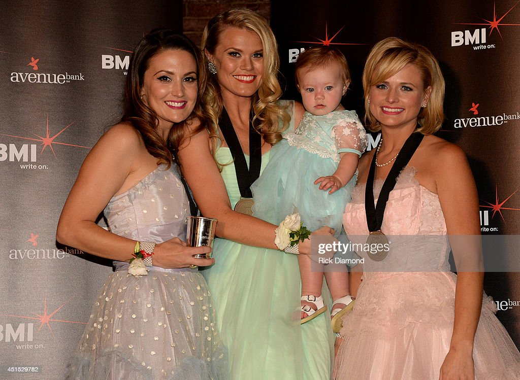 Co-writers Natalie Hemby and Nicolle Galyon and Miranda Lambert attend the 'Automatic' No. 1 party on June 30, 2014 in Nashville, Tennessee.