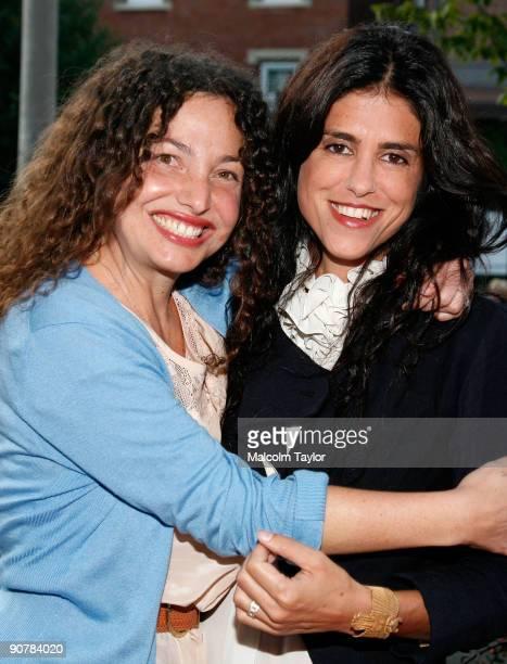 Cowriters/directors Tatiana von Furstenberg and Francesca Gregorini arrive at the 'Tanner Hall' screening during the 2009 Toronto International Film...