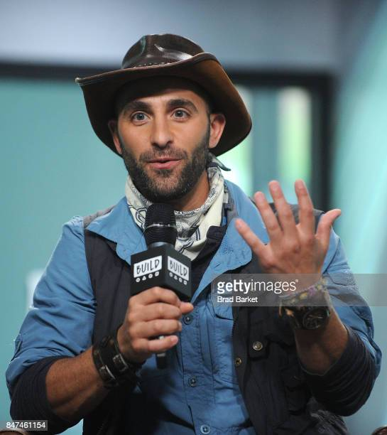 Coyote Peterson attends Build Presents Coyote Peterson Mark Laivins Discussing 'Coyote Peterson's Brave Adventures Wild Animals In A Wild World' at...
