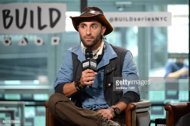 Coyote Peterson discusses 'Coyote Peterson's Brave Adventures Wild Animals In A Wild World' at Build Studio on September 15 2017 in New York City