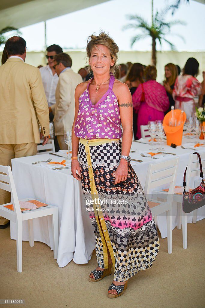 Cozmo Jenks attends the Veuve Clicquot Gold Cup final at Cowdray Park Polo Club on July 21, 2013 in Midhurst, England.