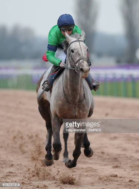 Cozy Tiger ridden by Tony Culhane winners of the Bet MultiplesBetdaq Maiden Stakes