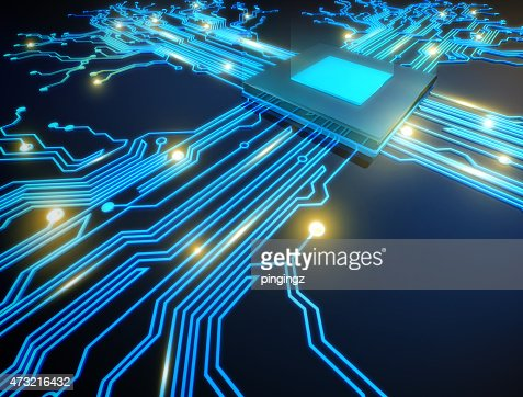 cpu computer : Stock Photo