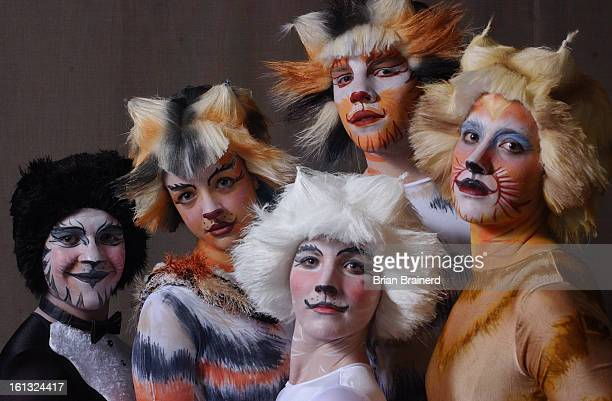 COLLINS CO MAR 7 2004 <cq> The cast of Cats in costume at the Broadway Bound Dance Academy in Fort Collins The show billed as the Rocky Mountain...