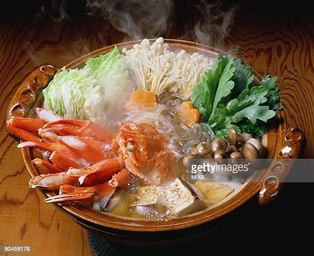Crab hot pot