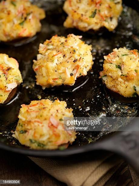 Crab Stuffed Mushroom Caps