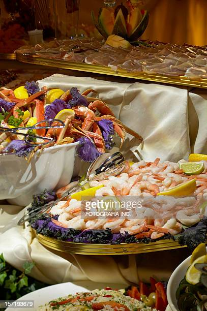 Crabs and Shrimp on the table