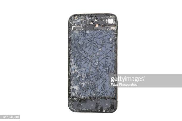 Cracked Cell Phone