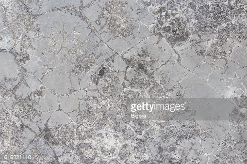 Cracked  concrete old wall texture background : Stock Photo