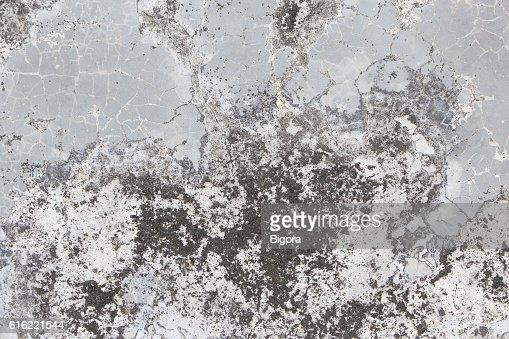 Vieux mur de béton fissuré texture d'arrière-plan : Photo