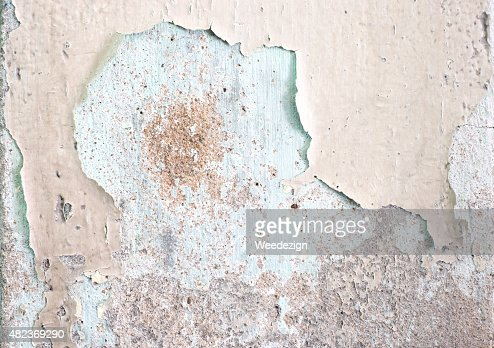 Cracked Decay Painted Concrete Wall Texture Backgroundgrunge Wa