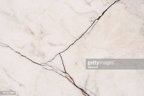 cracked marble