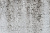 Cracked old gray cement concrete stone wall vintage dirty texture background
